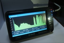 Sathero SH-600HD Real Specteum Analyzer DVB-S2 Finder & mpeg-4 C/Ku Band HD Satellite Finder Meter with 7 inch LCD, USB 2.0