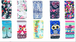 Luxury Printing Painted Flip Leather PU Case For iPhone ,Cases Back Cover for iphone
