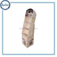 Full Color printing POP Store Sales Display Stand For Drinking Coffee,Hot Sale Coffee Drinks Cardboard Floor Stand Display