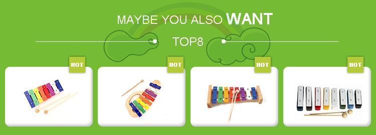 Brinquedos xilofone Orff percussão xilofone musical Atacado para crianças