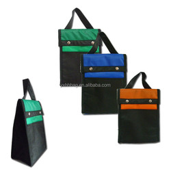 Lunch cooler bag, nylon fabric for bags, box bag for lunch