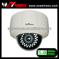 Wetrans Day and Night IR Dome Varifocal 2.8-12mm ONVIF 5 Megapixel IP Camera Board
