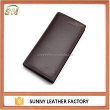 synthetic genuine leather slim wallet custom magic wallet