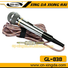 Computadora de mano gl-838 cardioide de micrófono dinámico
