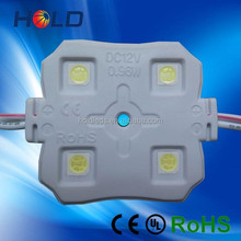 high quality injection square 5050 4 led module 12v waterproof