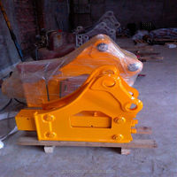 Excavator Hydraulic Breaker hammer parts with flat type chisel