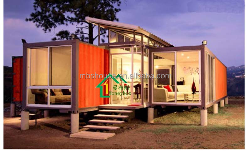 China 20ft prefab container home for sale modern prefabricated container house price mobile - Container home costs ...