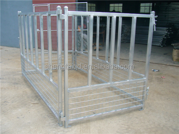 3.0 x 3.0 x 1.8 m galvanizado en caliente dog kennel dog jaula jaula del animal doméstico