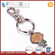 New design zinc alloy keychain metal