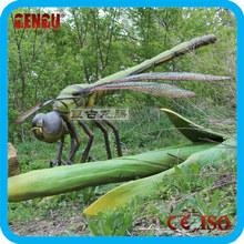 Parque de atracciones equipo simulado Animated insecto libélula modelo