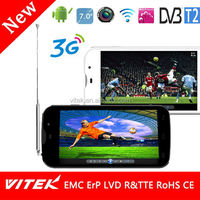 Cheap WIFI 5'' Quad Core T2 Analog TV Mobile Phone