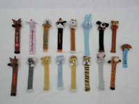 Wholesale animal plush bookmark toy,cute stuffed animal bookmark