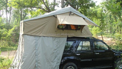 roof top tent with annex