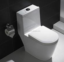 ceramic one piece classic toilet, classic design one piece toilet siphonic toilet