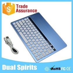 universal bluetooth 3.0 aluminum tablet keyboard for ios/windows/android colour
