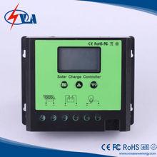 Pwm 40a 12 v / 24 v regulador de carga solar