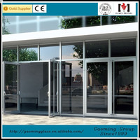 China very good supplier sliding glass door grill design with professional engineers team DS-LP4911