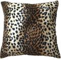 Nuevo leopardo de la llegada / guepardo exterior cojines reversible sofá, Mano almohadas