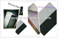 2012 high quality Knitted inner linings,100%Polyester fusible interlining fabrics,fusible linings