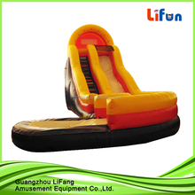 Red commercial inflatable water slide water slide for children