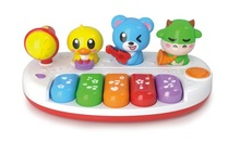 animal piano play fun ABS intelligent music play set with EN71