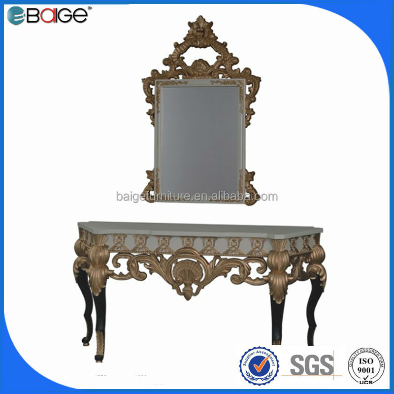 S-8001b de buena calidad en dificultades antiguos de madera consola ...