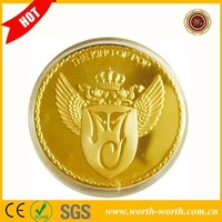 Hot New Arrivals Michael Jackson MJ King of Pop 24k Gold Plated Coin, Custom Coins For Music Fans With Acrylic Capsule Box