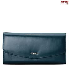 Rfid Blocking Security Genuine Leather Women Purse,ladies wallet,women wallet