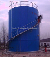 Biogas fermentation tank for power plant