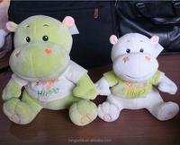 Soft plush toys, stuffed animals, pendant series plush toy Hippo