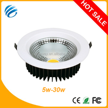 ce,rohs approved hot sale high power mini round recessedled spot down light