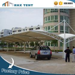 Focus on tent drapery