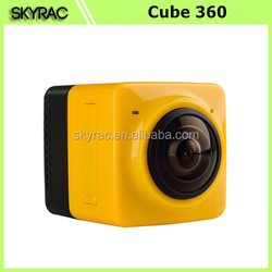 In Stock! Cube Mini Action Camera 360 degree wireless camera Cube 360