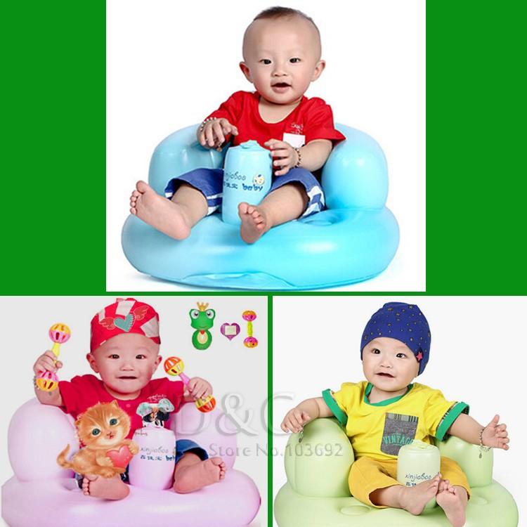 Ванна сиденья стул младенца надувной диван коляска детские стул стул играть в игру диванную дети учатся стул