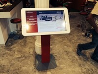 """ITL420 42"""" PCAP multiple touch screen, for retail and way finding"""