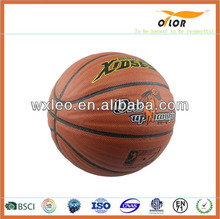 Size 7 standard size and weight custom basketball stand weight basketball