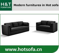 Italian Style Home Furniture Black Sofa, Italian Style Home Furniture 3+2 Seat Sofa, New Design Italy Style Home Furniture H209