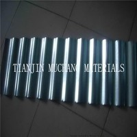 Building material corrugated galvanized metal roofing sheet / tile DX51D SGCC material