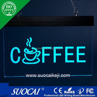 personalized led name board, led shop sign tag