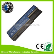 Generic battery for Acer replacement 5520 battery pack 11.1V 5200mAh for notebook battery