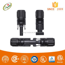 High Quality TUV and UL approved PV male and female cable connectors mc4 for Photovoltaic system