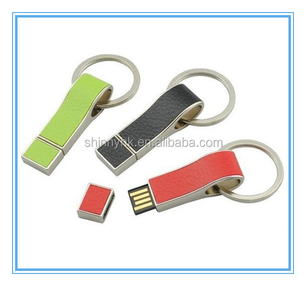 2014 Popular style New design royal leather usb flash drive for business gifts SI-FDL00001