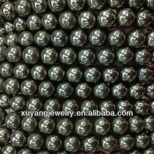 10mm cuentas redondas de piedra pirita Natural (AB1483)