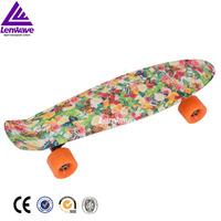 Kick board 4 wheels skateboard