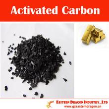6 * 12 Mesh Activado coco carbón de Oro Industria Minera
