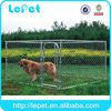large dog run chain link animal cage stainless steel wire fence