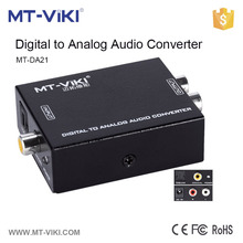 MT-VIKI digital tv to analog optical toslink coaxial to rca audio converter