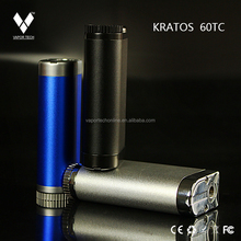 Box Mod Electronic Cigarette Variable Voltage Twist Mega Kratos 60w tc Box Mod Vaporizer Electronic Cigarette