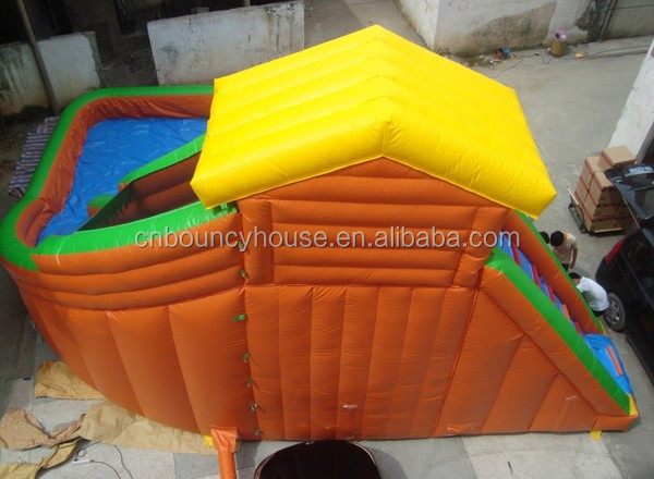 2015 cheap inflatable water slides inflatable slide with - Used swimming pool slides for sale ...