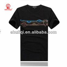 high quality custom cotton t shirt for men